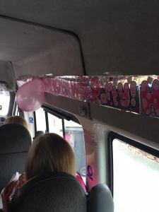 bus decorated